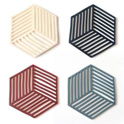 Hexagon szilikon edényalátét