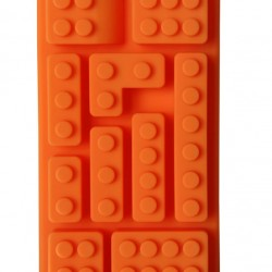 Lego kocka szilikon forma - téglalap alakú