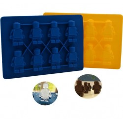 Lego figura szilikon forma - 8 db kicsi