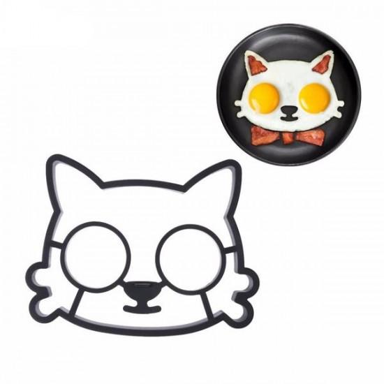 Kutya - macska tükörtojás forma