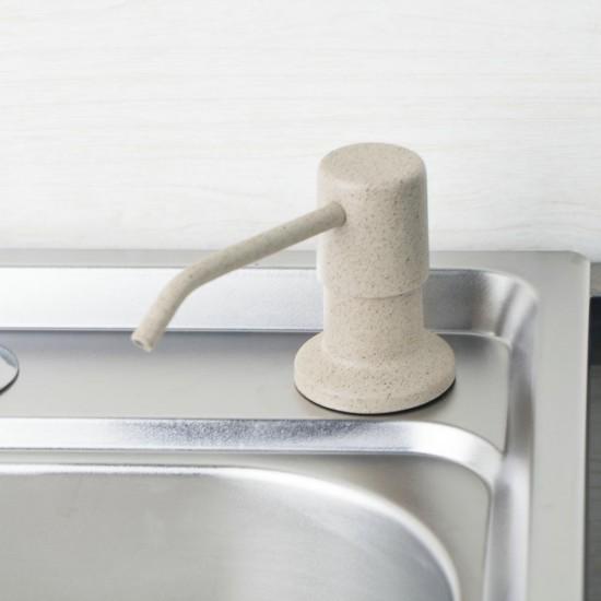 Beépíthető gránit színű mosogatószer adagoló