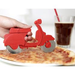 Pizza vágó roller - szeletelő robogó