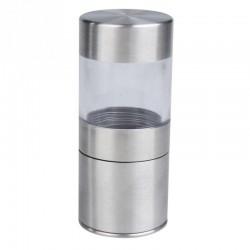 Rozsdamentes acél kézi borsőrlő
