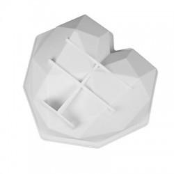 Szív alakú szilikon torta forma