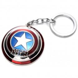 Amerika Kapitány pajzsa kulcstartó