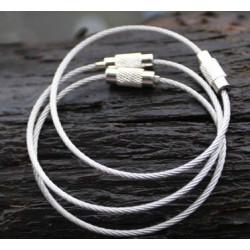 Sodrony kulcstartó kábel - 5 db