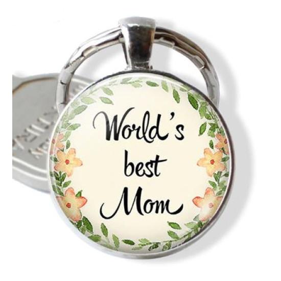 Világ legjobb anyukája kulcstartó