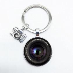 Objektív lencse fotós kulcstartó