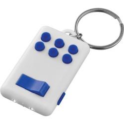 Flip & Click stresszoldó - világító kulcstartó