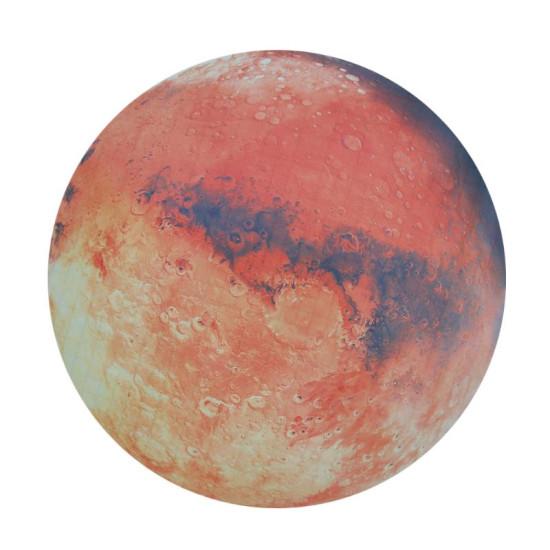 Fluoreszkáló Hold / Mars matrica