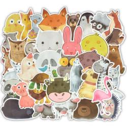 50 db állatos matrica gyerekeknek