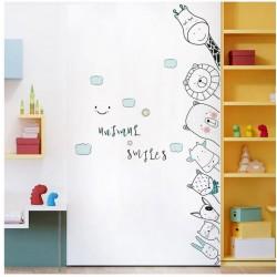 Állatos falmatrica ajtóra, szekrényre, falra