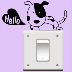 Kutya a kapcsolón matrica