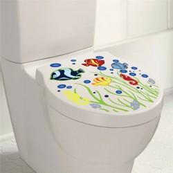WC ülőke vagy fürdőszobai matrica