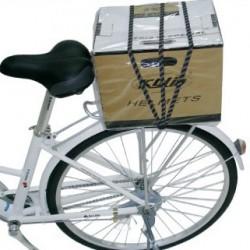 Csomagrögzítő gumipók - kerékpárra