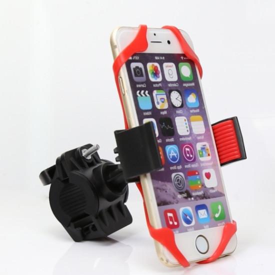 Szilikonos telefontartó kerékpárra - kormányra szerelhető