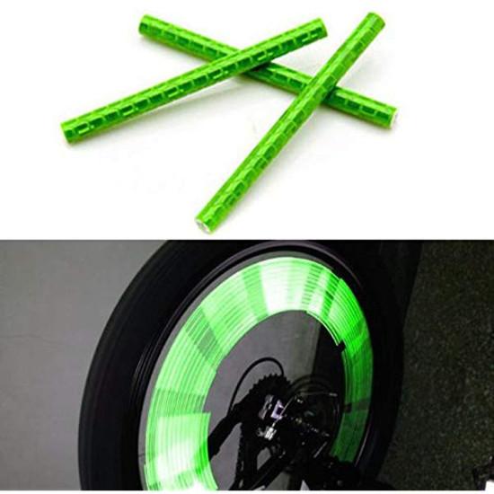 Fényvisszaverő rúd kerékpár küllőkre - 12 db