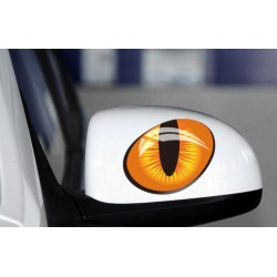 Macskaszem fényvisszaverős autós matrica