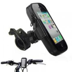 Telefontartó kerékpárra - kormányra szerelhető