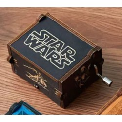 Star Wars fa zenedoboz