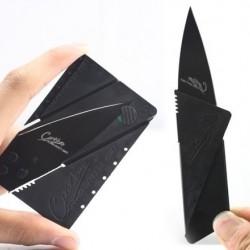Hitelkártya méretű összehajtható kés