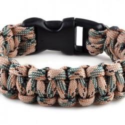 Kötél karkötő - outdoor túlélő felszerelés