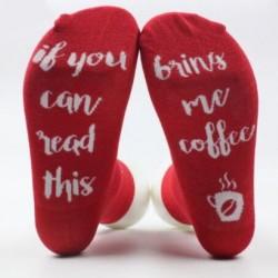 Hozz kávét piros zokni