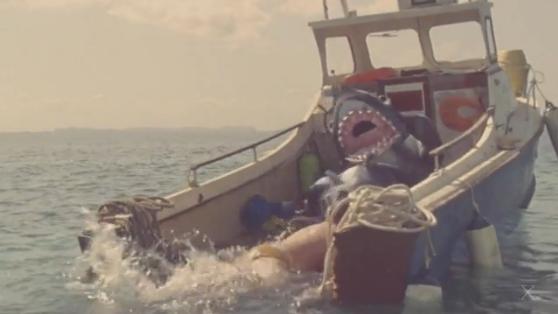 Cápa támadás vicces coub - videó